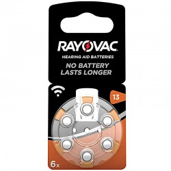 Rayovac Hörgerät Batterien - 13 - Packung à 6 Stk._10017
