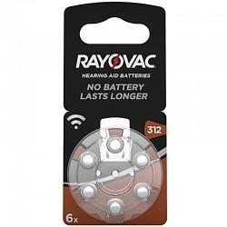 Rayovac Hörgerät Batterien - 312 - Packung à 6 Stk._10018