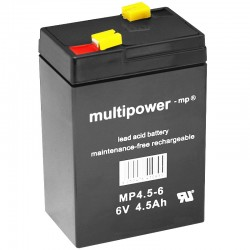 Multipower Standard - MP4.5-6 - 6V - 4.5Ah_10088