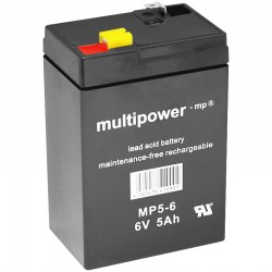 Multipower Standard - MP5-6 - 6V - 5Ah_10089