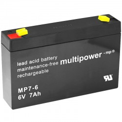 Multipower Standard - MP7-6 - 6V - 7Ah_10090