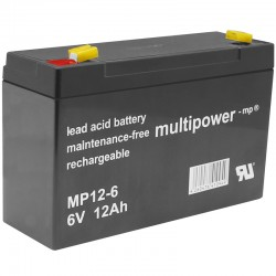 Multipower Standard - MP12-6 - 6V - 12Ah_10091