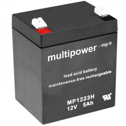 Multipower Sondertypen - MP1223H -12V - 5Ah_10093