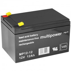 Multipower Standard - MP12-12 - 12V - 12Ah_10094