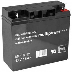 Multipower Standard - MP18-12 - 12V - 18Ah_10095