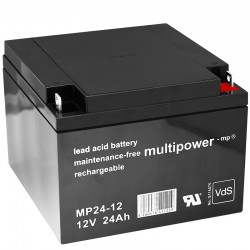 Multipower Standard - MP24-12 - 12V - 24Ah_10096
