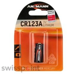 ANSMANN Lithium Batterie CR123A 1er Blister_101