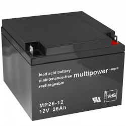 Multipower Standard - MP26-12 - 12V - 26Ah_10103