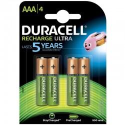 Duracell Konsumerakku - AAA (900mAh) - Packung à 4 Stk._10105