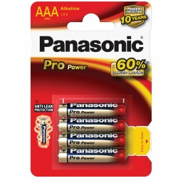 Panasonic Pro Power - AAA - Packung à 4 Stk._10117
