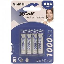 X-Cell Konsumerakku - AAA - Packung à 4 Stk._10149
