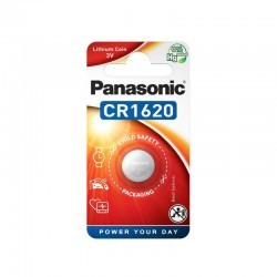 Panasonic Knopfzelle - CR1620 - Packung à 1 Stk._10163