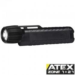 UK3AA eLED CPO-ET, ATEX Taschen-/Helmlampe, Heckschalter, graphit, 110 Lumen_10175