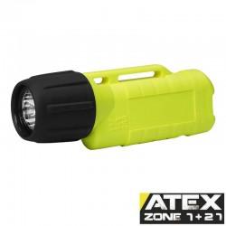 UK2AA eLED-ET, ATEX Taschen-/Helmlampe, Heckschalter, neongelb_10177
