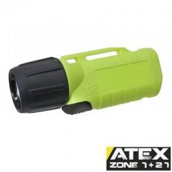 UK2AA eLED-ES, ATEX Taschen-/Helmlampe, Frontschalter, neongelb_10178