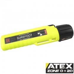 UK4AA eLED Surefoot, neongelb, ATEX Taschen-/Helmlampe, Heckschalter, neongelb, 225 Lumen_10181