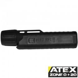 UK4AA eLED RFL-ES, ATEX Taschen-/Helmlampe, Frontschalter, schwarz_10182