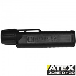 UK4AA eLED RFL-ES, neongelb, ATEX Taschen-/Helmlampe, Frontschalter, neongelb_10182