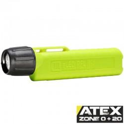 UK4AA eLED RFL-ES, neongelb, ATEX Taschen-/Helmlampe, Frontschalter, neongelb, 225 Lumen_10183