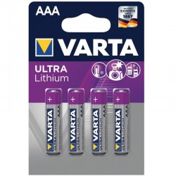 Varta Professional Lithium - AAA - Packung à 4 Stk._10186