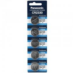Panasonic Knopfzelle - CR2330 - Packung à 5 Stk._10200