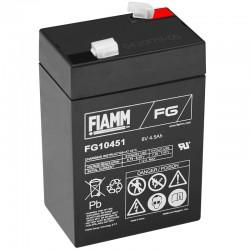 Fiamm Standard Bleiakku - FG10451 - 6V - 4.5Ah_10238