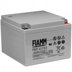 Fiamm Bleiakku Cyclic - FGC22703 - 12V - 27Ah_10246
