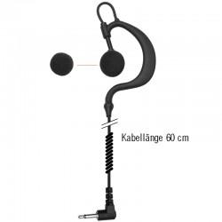 Einfacher Flexi-Ohrhänger - Spiral - 3.5mm - 60cm_10266
