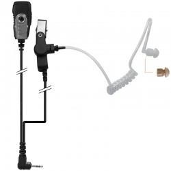 2-Kabel Hörsprechgarnitur mit Schallschlauch - Motorola T 80, XTB446_10293