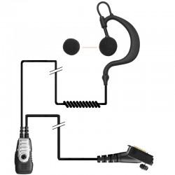 2-Kabel Hörsprechgarnitur mit flexiblem Ohrträger - TPH900_10298