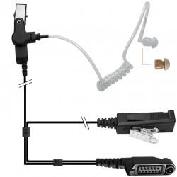 2-Kabel Hörsprechgarnitur mit Schallschlauch - Hytera X1e_10302