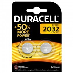Duracell Knopfzelle - 2032 - Packung à 2 Stk._10343