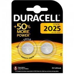 Duracell Knopfzelle - 2025 - Packung à 2 Stk._10344