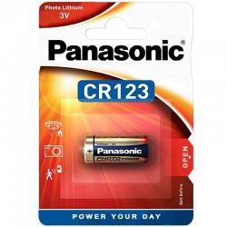 Panasonic Fotobatterie - CR123 - Packung à 1 Stk._10371