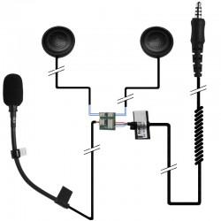 Einbauset Shoei Neotec mit zwei Lautsprechern_10392