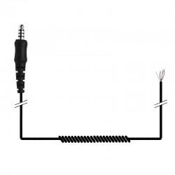 Spiralkabel mit Nexus-Stecker für Helmeinbauten_10396