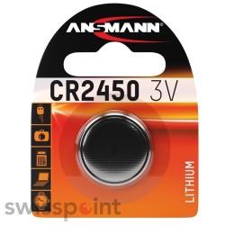 ANSMANN Lithium Knopfzelle CR2450 1er Blister_104