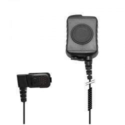 Diskrete Basis Interface Box mit PTT / Mikrofon mit 3.5mm Anschluss für optionalen Ohrhörer_10404