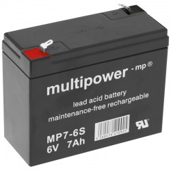 Multipower Standard - MP7-6S - 6V - 7Ah_10406
