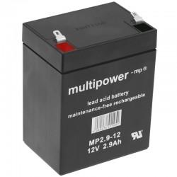 Multipower Standard - MP2.9-12R - 12V - 2.9Ah_10407