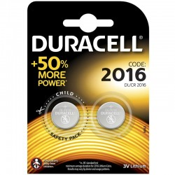Duracell Knopfzelle - 2016 - Packung à 2 Stk._10435