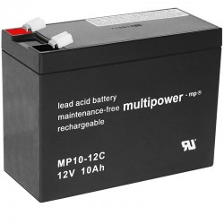 Multipower Zyklisch - MP10-12C -12V - 10Ah_10478
