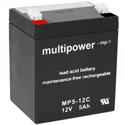 Multipower Zyklisch - MP5-12C - 12V - 5Ah_10480