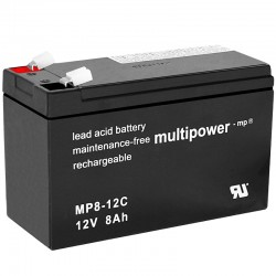 Multipower Zyklisch - MP8-12C - 12V - 8Ah_10481