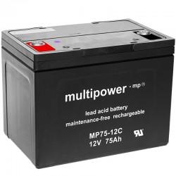 Multipower Zyklisch - MP75-12C - 12V - 75Ah_10482