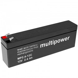 Multipower Zyklisch - MP2.4-12C - 12V - 2.4Ah_10484