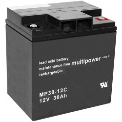 Multipower Zyklisch - MP30-12C - 12V - 30Ah_10486