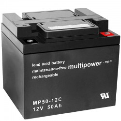 Multipower Zyklisch - MP50-12C - 12V - 50Ah_10487