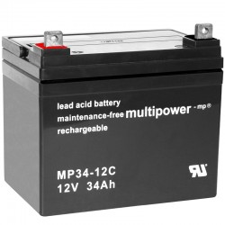 Multipower Zyklisch - MP34-12C - 12V - 34Ah_10488