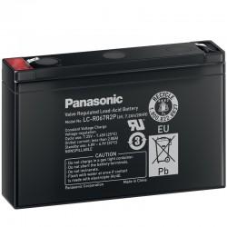 Panasonic Standard Bleiakku (LC-R067R2P) - 6V - 7.2Ah_10496